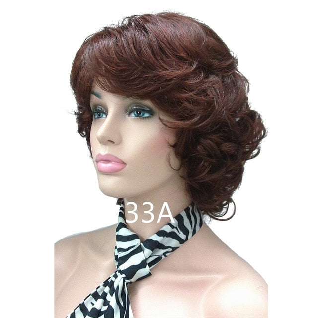 Women's Synthetic Wigs Natural Curly