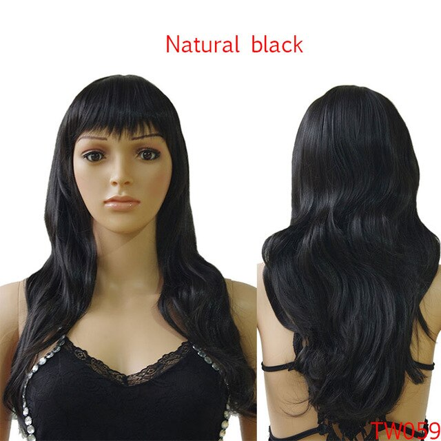 22 inch Loose Wave Synthetic Wigs for women Cosplay wig