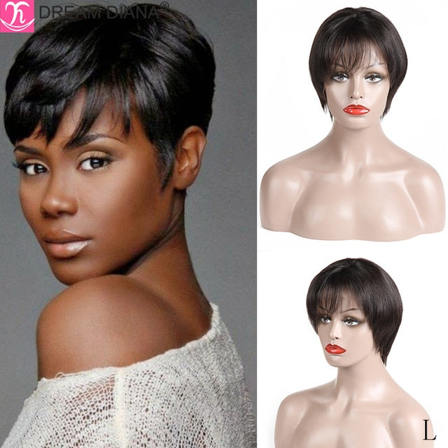 Bob Straight Front Lace Wig