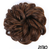 Scrunchie Chignon With Elastic Band Updo
