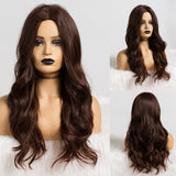 Black Brown Cosplay Synthetic Wigs