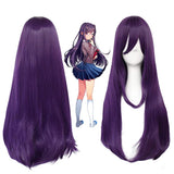 Doki Doki Literature Club High temperature fiber Synthetic Cosplay Wigs for Halloween