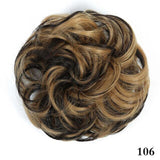 Girls Curly Scrunchie Chignon With Rubbe
