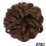 Curly Scrunchy Chignon With Elastic