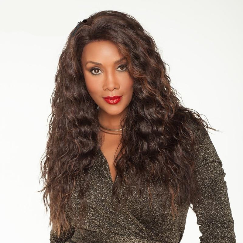 Long Bouncy Curly Synthetic Wigs