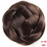 Braided Chignon Synthetic Hair Multi-tiered