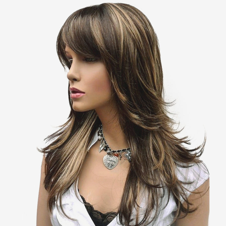 Women's Synthetic Wig Long Straight