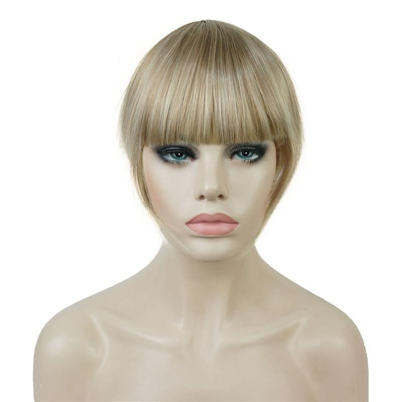 Synthetic Hair Thin Neat Air Bangs Clip