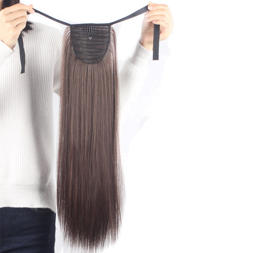 Tie on Ponytail Hair Extension Tail