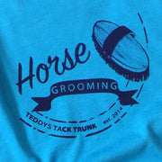 Teddy's Tack Trunk Horse Grooming Fitted Tee