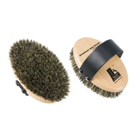 Leistner Natural Bristle Premium Dog Brush Small
