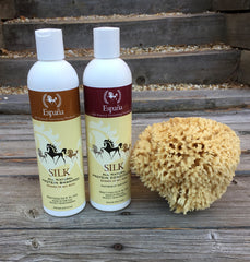 Espana Silk All Natural Shampoo & Conditioner Bath Bundle