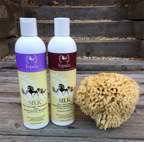 Espana Silk All Natural Whitening Shampoo & Conditioner Bundle