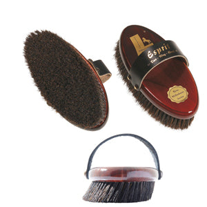 "Leistner Natural Bristle ""Esprit"" Angled Brush"