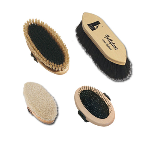 "Leistner ""Kind"" Brush Set for Sensitive Horses (4)"