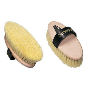 "Leistner Natural Bristle ""Sweepy"" Dandy Brush"