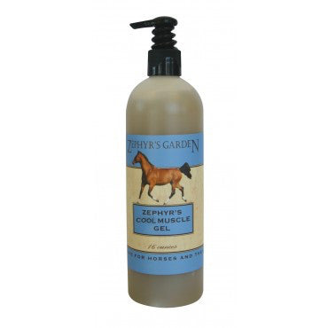Zephyr's Cool Muscle Gel Liniment with Arnica
