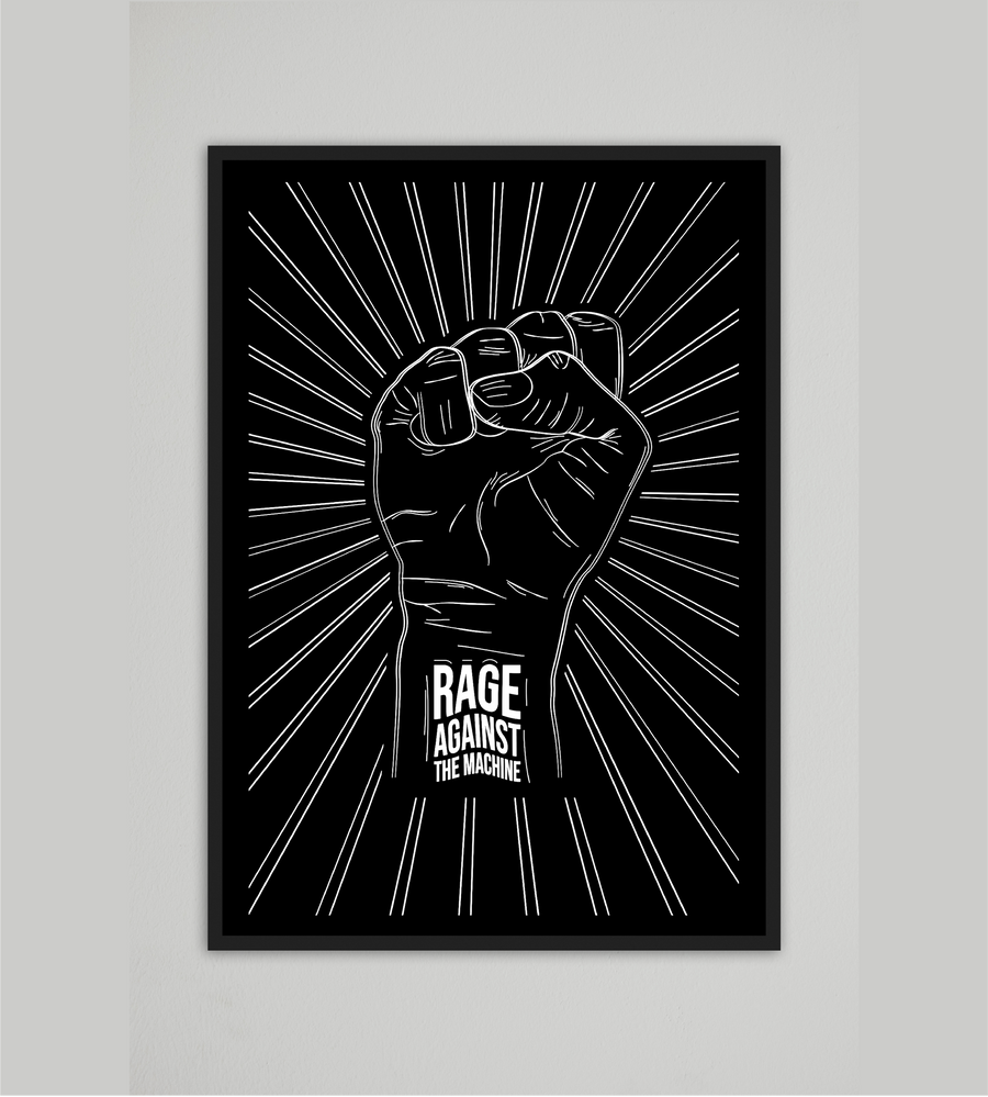 Rage Against The Machine Mood Style Wall Art