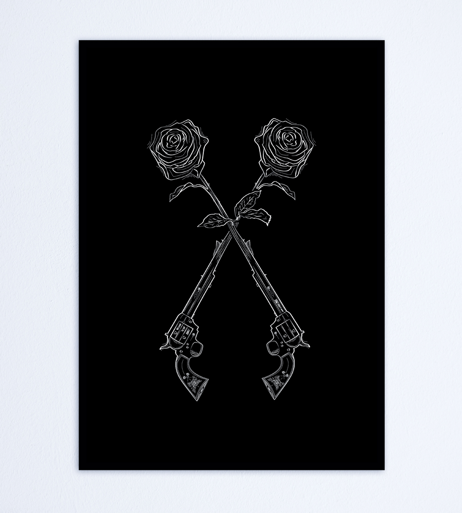 Guns N' Roses Mood Style Wall Art