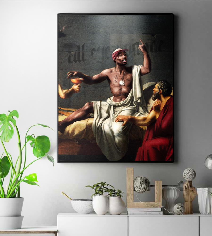 Tupac Painting Wall Art