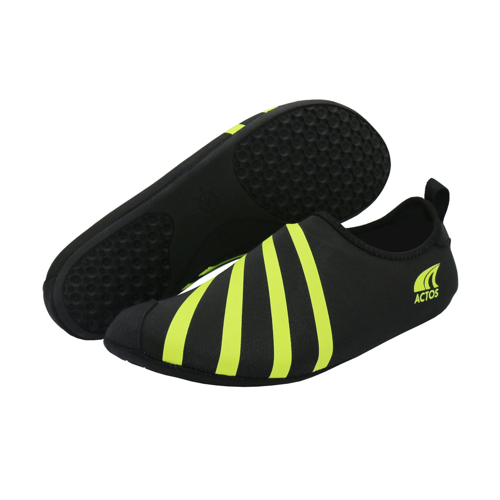 Aquafly Ultralight Water Shoes Black Green