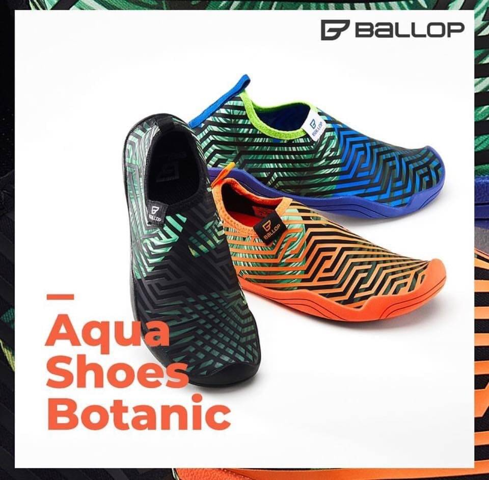 Aquafit Shoes Botanic Black