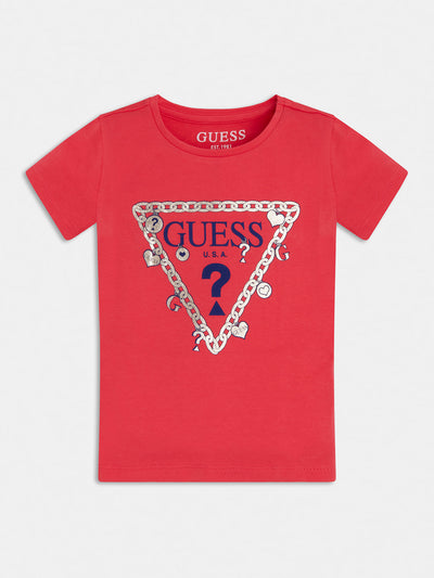 TRIANGLE LOGO T-SHIRT - Guess