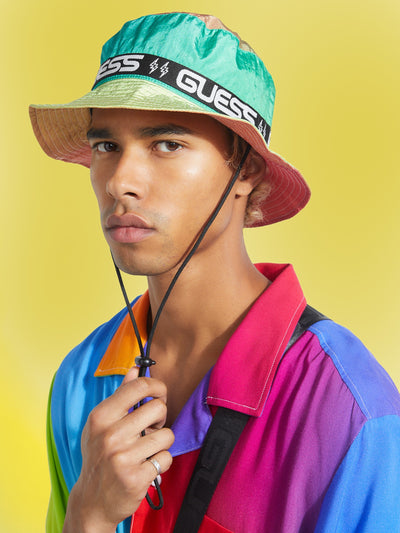 GUESS X J BALVIN NYLON BUCKET HAT - Guess