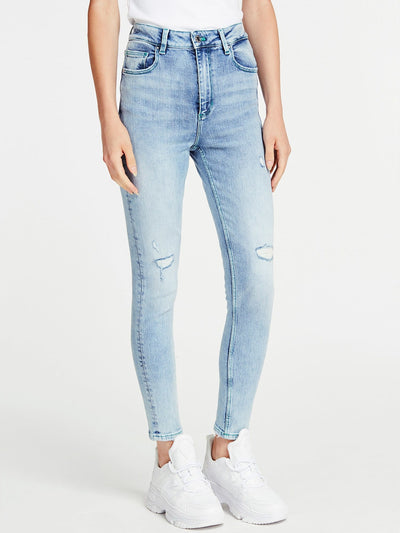 SUPER HIGH-RISE SKINNY DENIM - Guess