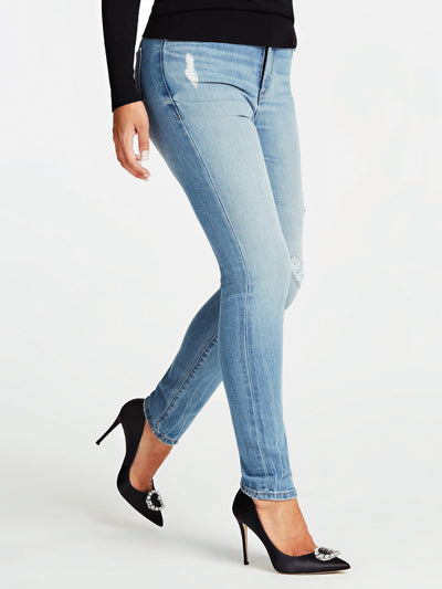1981 HIGH-RISE ANKLE SKINNY DENIM PANT - Guess