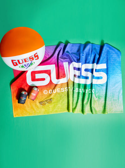 GUESS X J BALVIN BEACH TOWEL - Guess