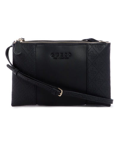 WILDER DOUBLE ZIP CROSSBODY - Guess