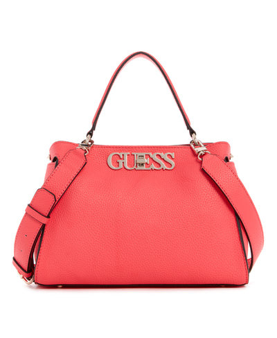 UPTOWN CHIC TURNLOCK SATCHEL - Guess