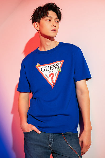 CHINESE NEW YEAR 2021 UNISEX LOGO TEE - Guess