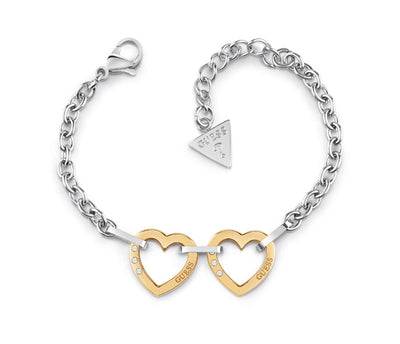 CHAIN BRACELET - HEARTED CHAIN - Guess
