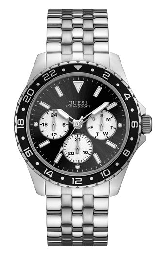 ODYSSEY MENS SPORT SILVER COLOUR - Guess