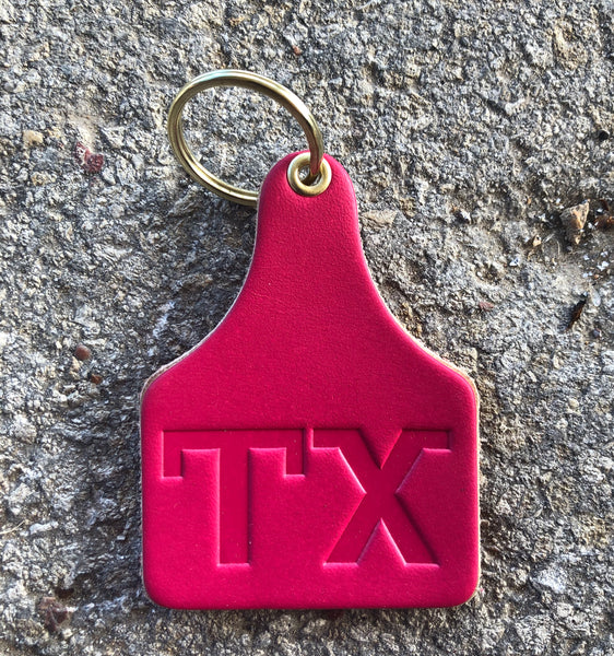 TX Brand Cow Tag