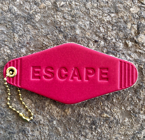 """Escape"" Motel Key Tag"