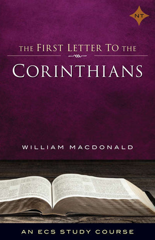 1st Corinthians, The First Letter to the Corinthians