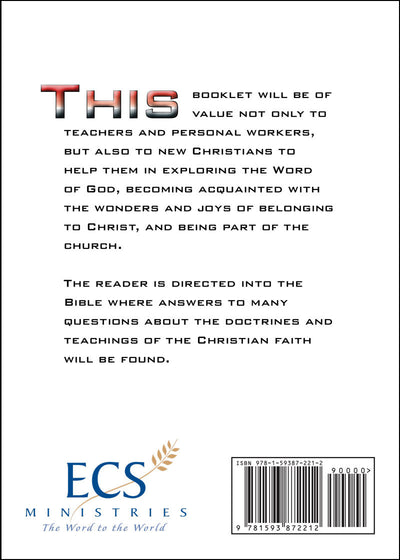 Basic Doctrines of the Christian Faith