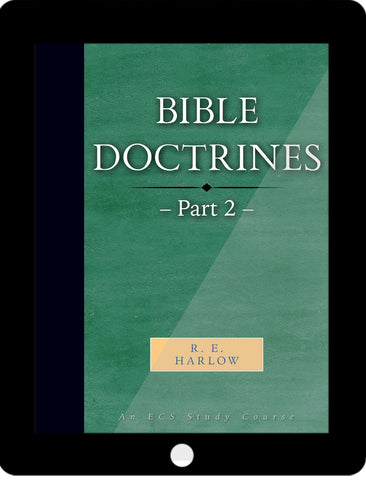 Bible Doctrines Part 2 eCourse