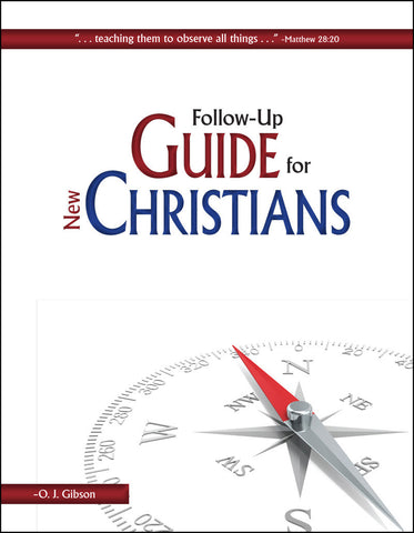 Follow-Up Guide for New Christians