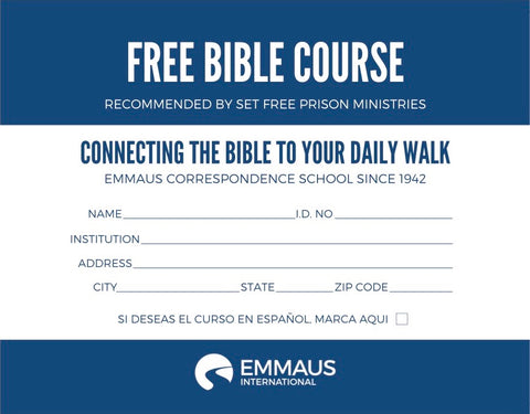 Free Bible Course Offer