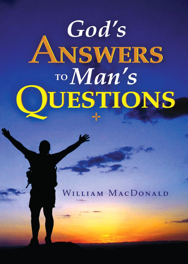 God's Answers to Man's Questions