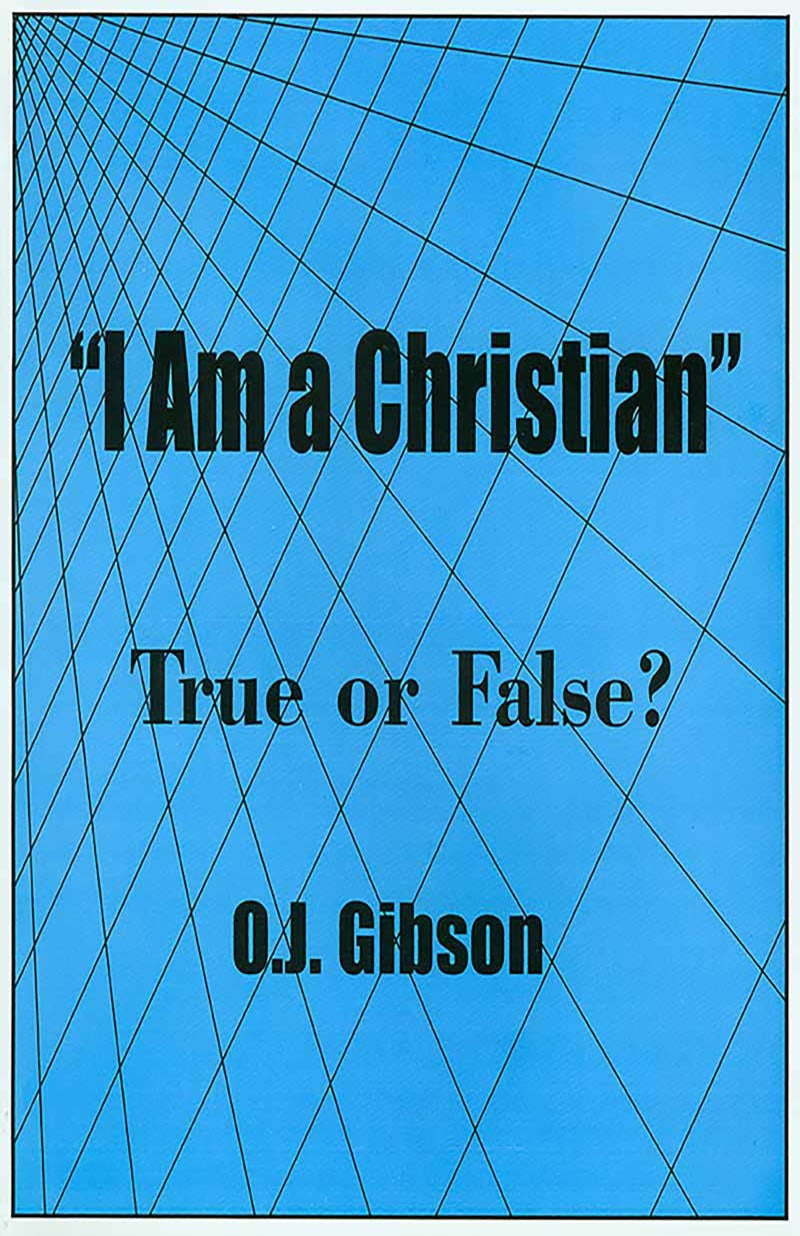 I am a Christian — True or False?