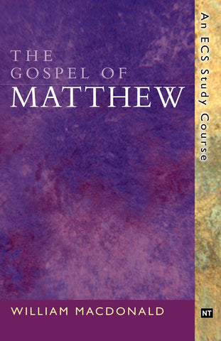 Matthew, The Gospel of