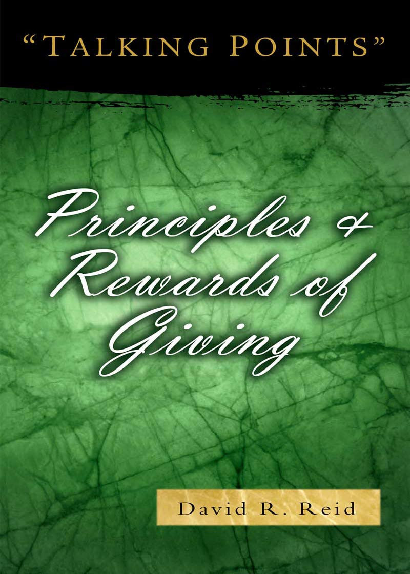 Principles & Rewards of Giving