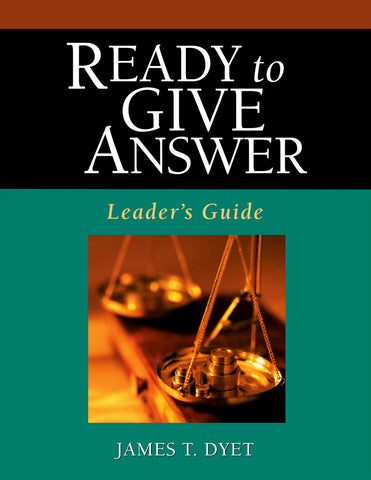 Ready to Give an Answer – Leader's Guide