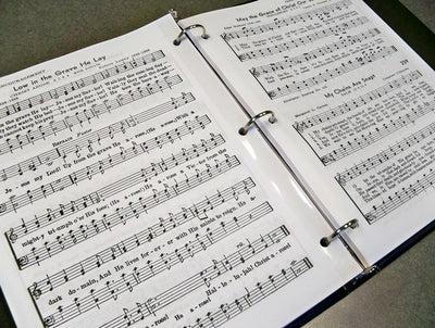 Hymns of Worship and Remembrance - Large Print