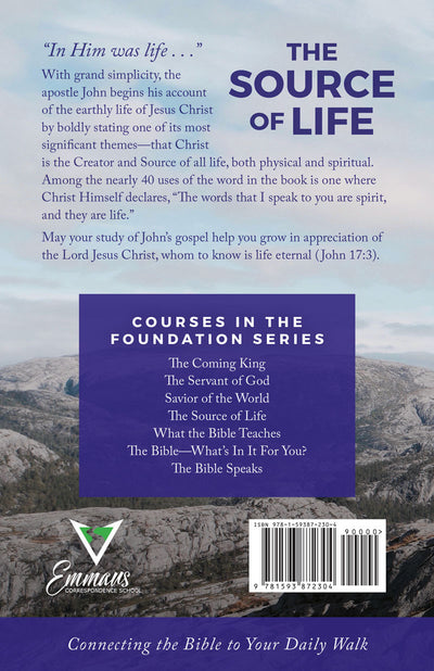 The Source of Life (John's Gospel)